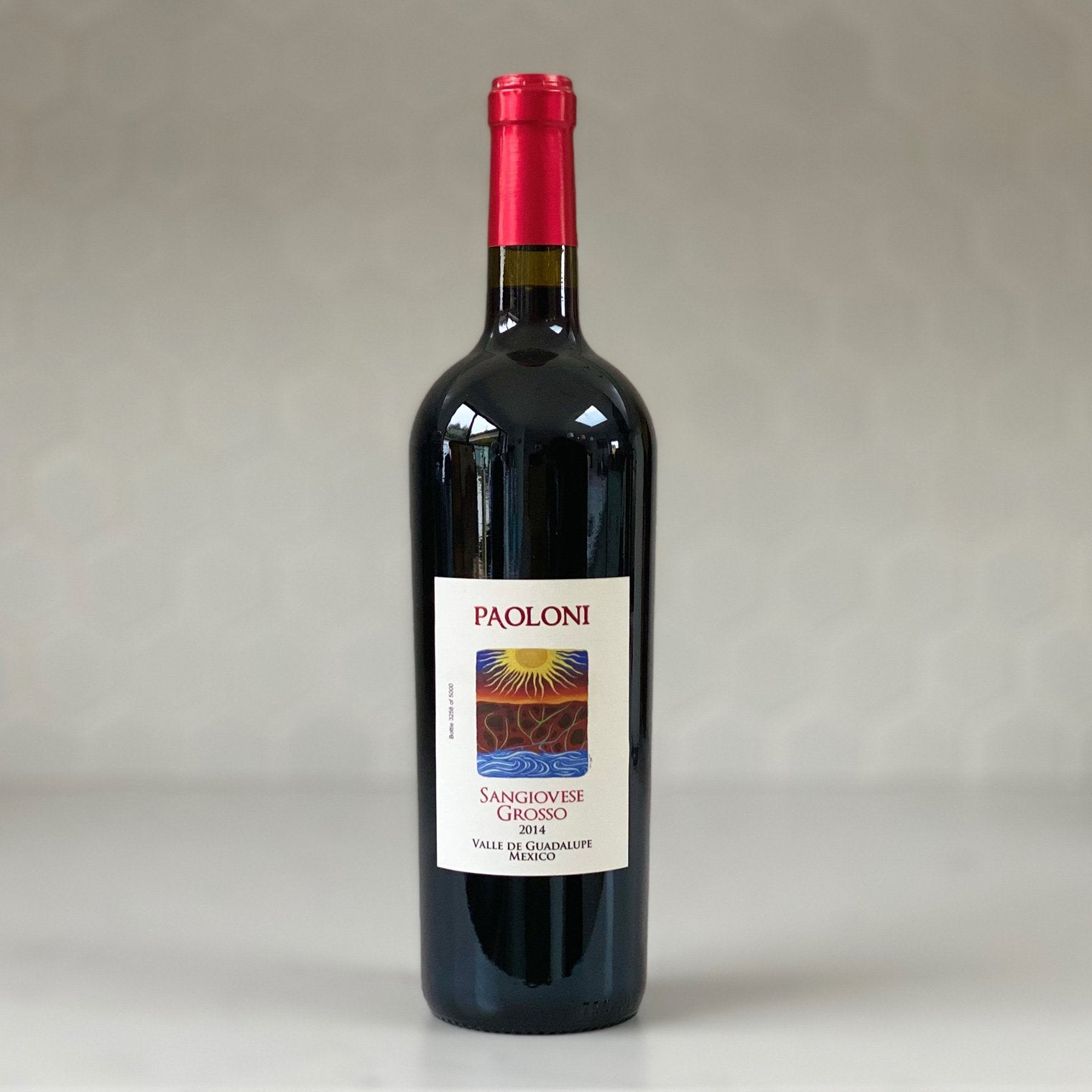 PAOLONI sangiovese 2014