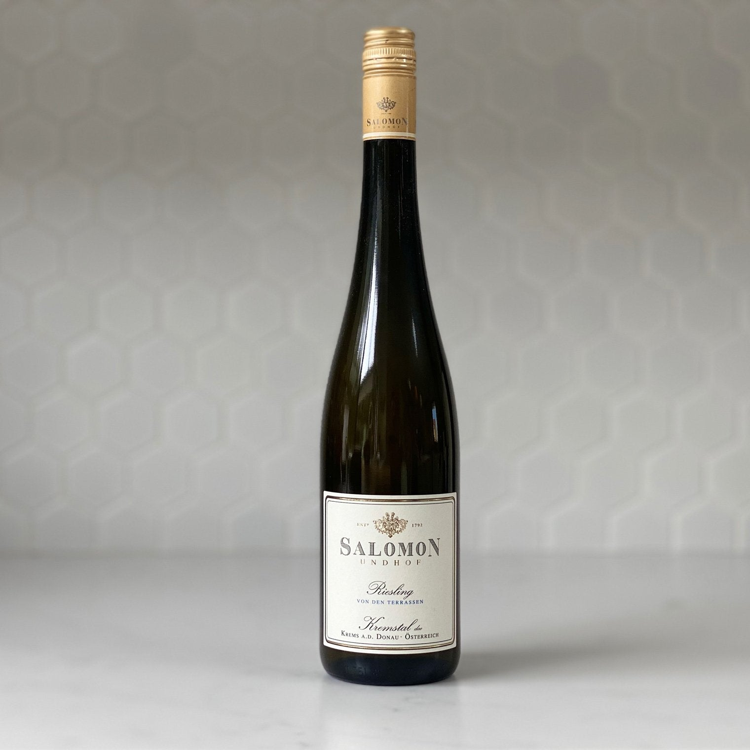 SALOMON UNDHOF estate riesling kremsal 2018