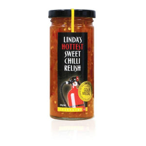 Linda's HOTTEST Sweet Chilli Relish