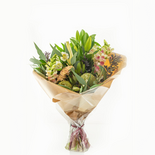 Load image into Gallery viewer, Mother's Day Hamper Flowers, Wine & Sweet Delights