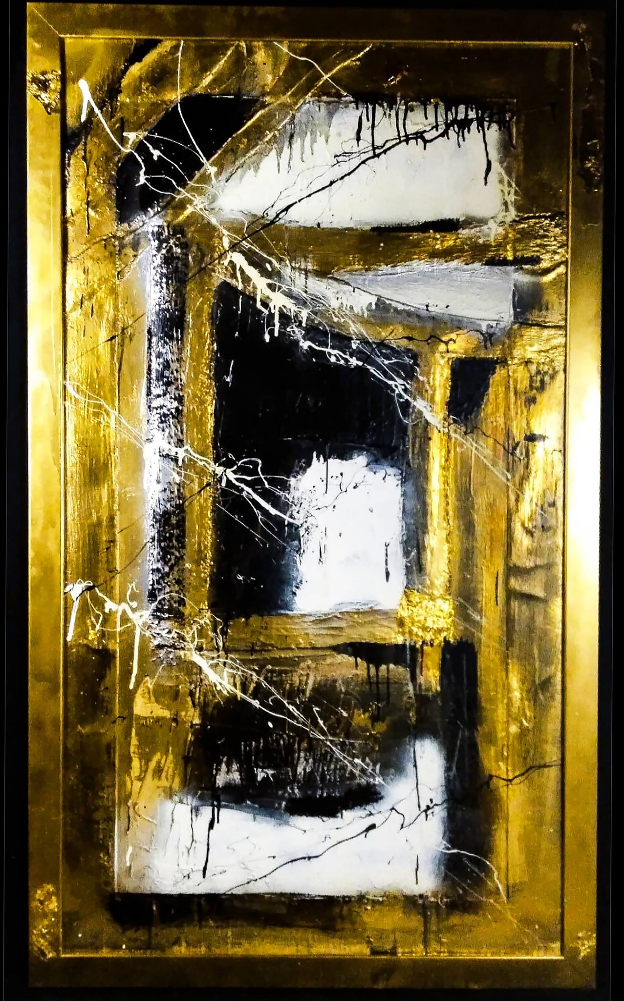 F A M I N E | 57in X 33in X 2in | Contemporary Art