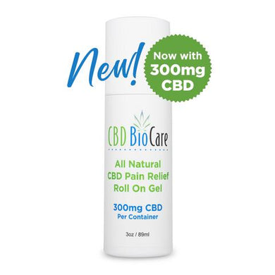 All Natural Pain Relief Roll On Gel, Now Improved