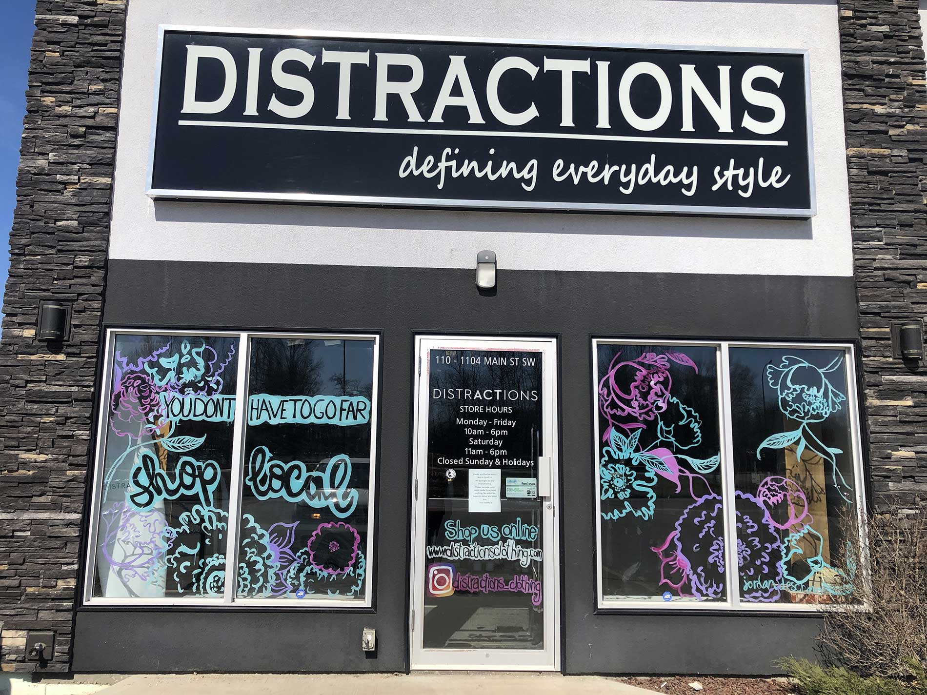 distractions clothing slave lake