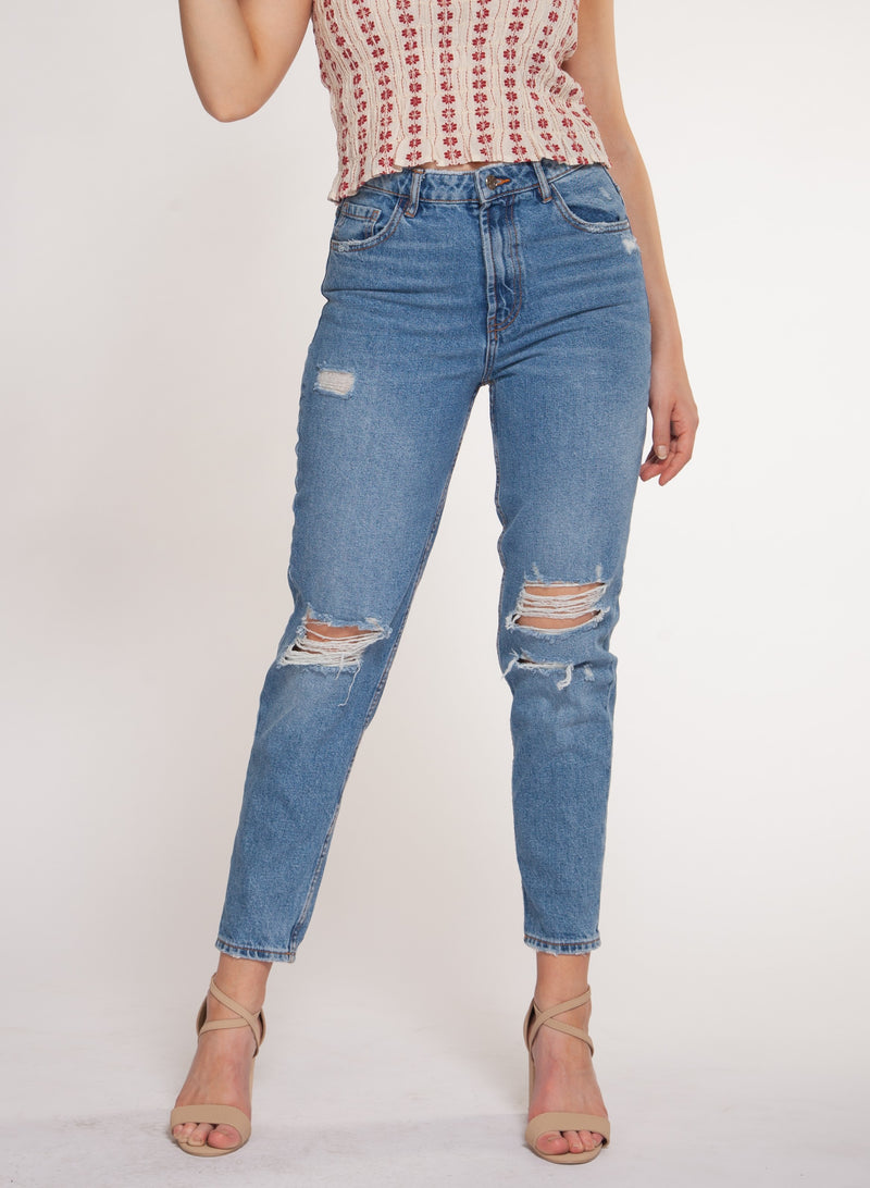 Mom Ripped Jeans