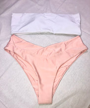 Load image into Gallery viewer, Rozzi Pink Cheeky Bikini Set