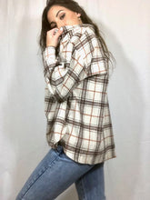 Load image into Gallery viewer, Ren Checkered Tan Jacket
