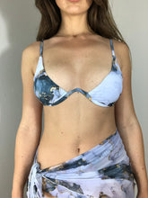 Load image into Gallery viewer, Emalina 3 Piece Marble Bikini Set