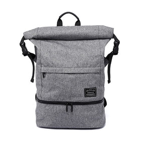 Men Backpack For 17 inch Laptop Bags Large Capacity Fashion Stundet School Pouch Waterproof Independent Shoes Tote Accessories