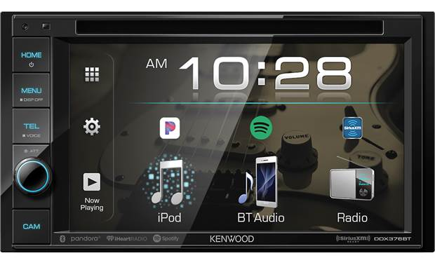 Kenwood DDX376BT CD/DVD Double Din TV Deck