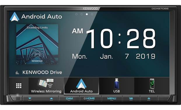 Kenwood DDX8706S CD/DVD/CarPlay/Android Auto Double Din TV Deck