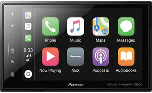 "Pioneer DMH-C5500NEX 8"" Modular Digital multimedia receiver — does not play CDs"