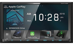 Kenwood DMX7706S Multimedia/CarPlay/Android Auto Double Din TV Deck