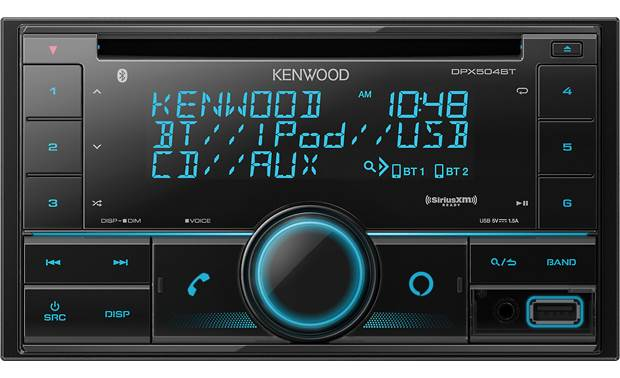 Kenwood DPX504BT CD receiver