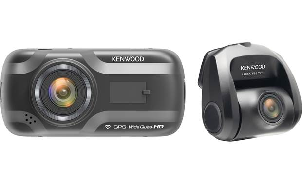 Kenwood DRV-A501WDP 2-channel HD dash cam with 3