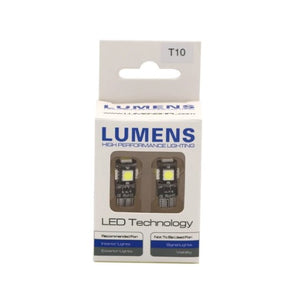 Lumens LED Bulbs (Pair) T10 / 194 / 168
