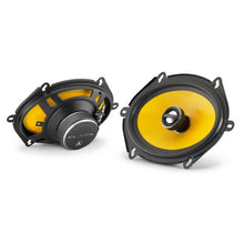 "Load image into Gallery viewer, JL Audio C1-570x 5 x 7"" / 6 x 8"" Coaxial Speakers with 0.75"" Aluminum Dome Tweeter"