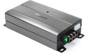 Kenwood KAC-M3004 Compact 4-channel car amplifier — 50 watts RMS x 4