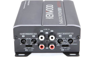Kenwood KAC-M1814 Compact 4-channel amplifier — 45 watts RMS x 4