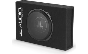 "JL Audio CS112LG-TW3 Sealed PowerWedge™ enclosure with one 12"" TW3 subwoofer"