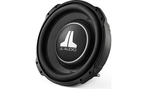 "JL Audio 12TW3-D8 Shallow-mount 12"" subwoofer with dual 8-ohm voice coils"