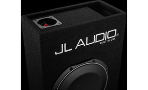 "JL Audio CP110LG-TW1-2 MicroSub™ slot-ported enclosure with one 10"" TW1-2 subwoofer"