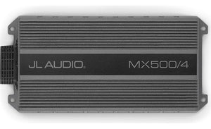 JL Audio MX500/4 Compact marine/powersports 4-channel amplifier — 70 watts RMS x 4