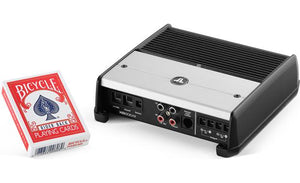 JL Audio XD200/2v2 2-channel car amplifier — 75 watts RMS x 2