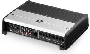 JL Audio XD500/3v2 3-channel car amplifier — 75 watts RMS x 2 at 4 ohms + 300 watts RMS x 1 at 2 ohms