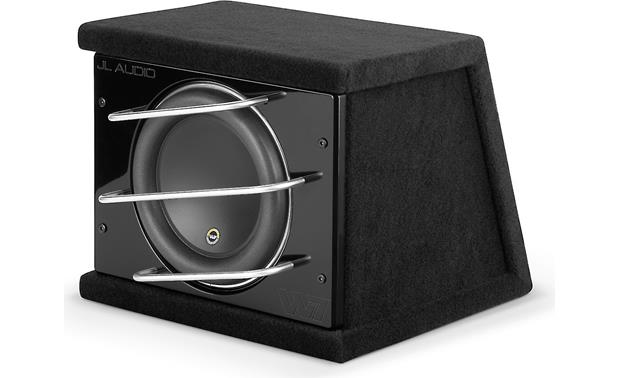 JL Audio CLS110RG-W7AE ProWedge™ enclosure with one 10