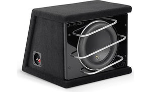 "JL Audio CLS110RG-W7AE ProWedge™ enclosure with one 10"" W7AE subwoofer"