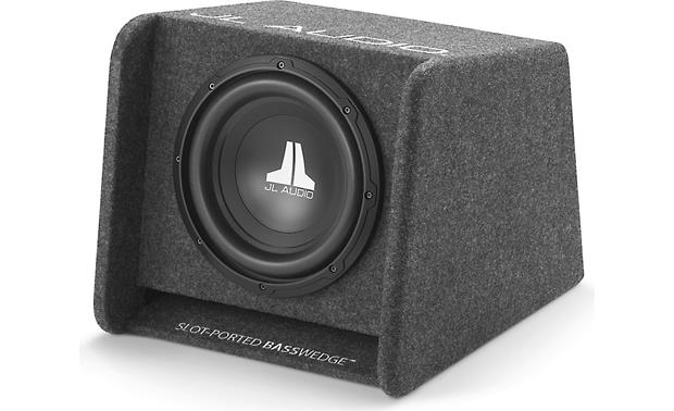 JL Audio CP110-W0v3 BassWedge™ slot-ported enclosure with one 10