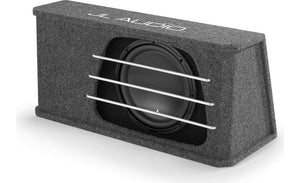 "JL Audio HO110RG-W3v3 High Output Series ported enclosure with 10"" subwoofer"