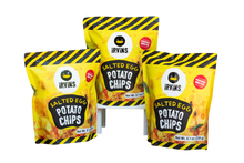 Load image into Gallery viewer, IRVINS Salted Egg Potato Chips - 3 PACK (3x3.7oz)
