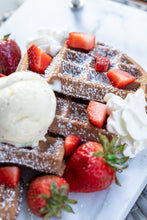 Load image into Gallery viewer, The Dough Club, Chocolate Mochi Pancake & Waffle Mix (12oz 6-8 servings)