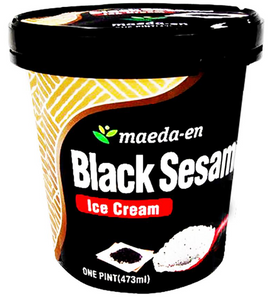 "MAEDA Ice Cream Pint ""Black Sesame"" (16 oz) - Konveny"