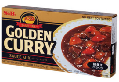 S&B Hot Jumbo Curry (8.4 oz) - Konveny