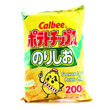 Load image into Gallery viewer, CALBEE Salt n Seaweed Chips (7 oz) - Konveny