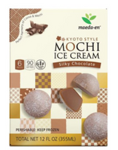 "Load image into Gallery viewer, MAEDA Mochi Ice Cream "" Chocolate"" (6 Piece) - Konveny"