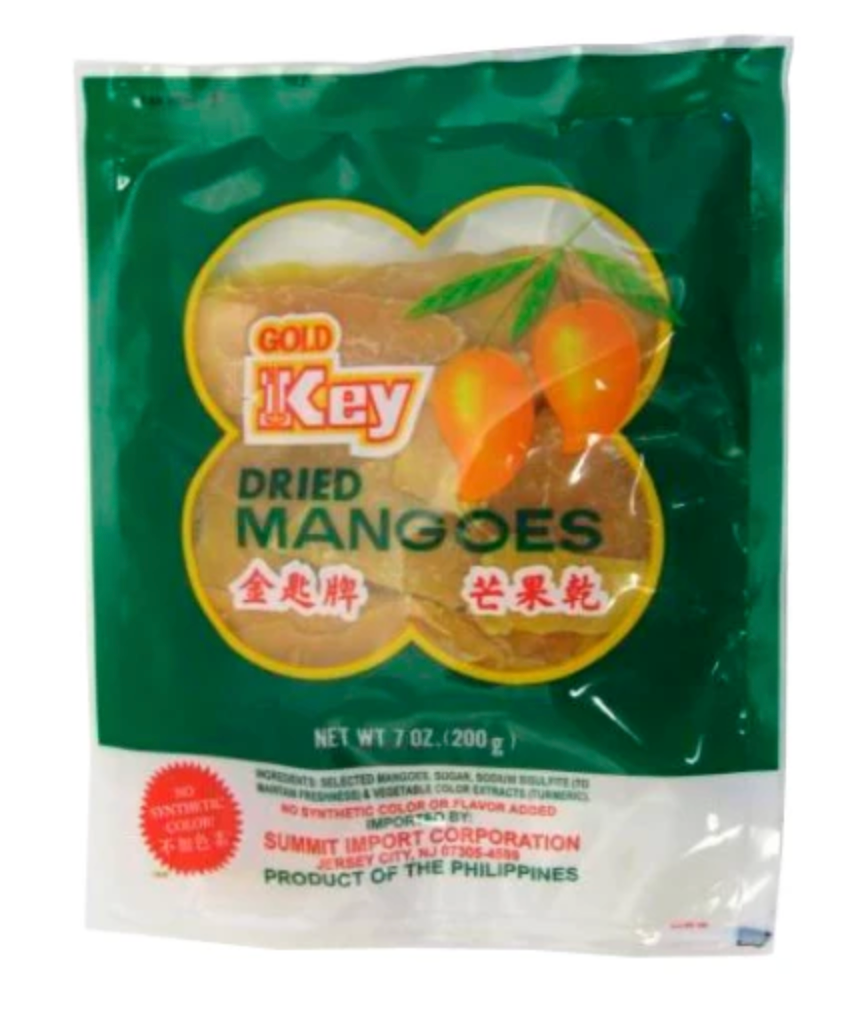 GOLD KEY Dried Mango (7 oz)