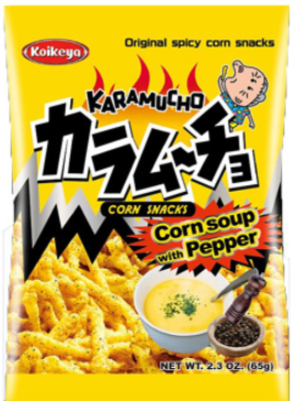 Koikeya, Corn Soup Pepper Chips (2.3 Oz)