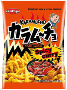 Koikeya, Spicy Curry Chips (2.3 Oz)