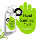 8.33 oz  62% Alcohol - Hand Sanitizer Gel Pump