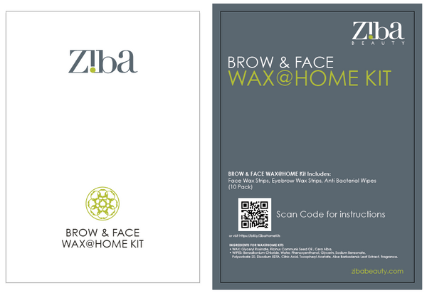 WAX@HOME KIT for BROW & FACE