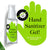 [NEW] 62% Alcohol Hand Sanitizer Gel 50ml/1.7oz
