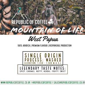 Mountain of Life (West Papua) - (225g/1kg)