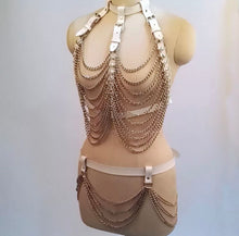 Load image into Gallery viewer, BOUNTY CHAIN HARNESS TASSEL SET