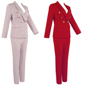 BEVV BUTTON UP SUIT SET