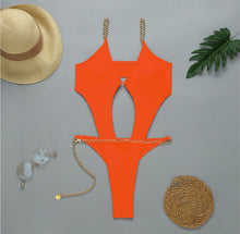 Load image into Gallery viewer, BALI CHAIN LINK MONOKINI