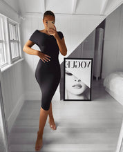 Load image into Gallery viewer, ANTON X OFF SHOULDER BANDAGE DRESS