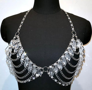 ICE DRIP CRYSTAL TASSEL SET